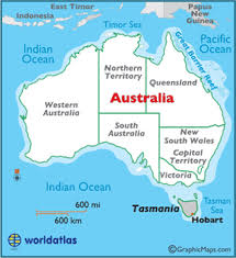 location of australia on world map tasmania map geography of tasmania map of tasmania