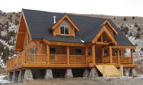 Two Story Log Homes by Awesome 15 Images Two Story Log Cabin Kits House Plans 20944