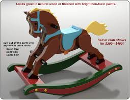 Build Wood Toy Trains Pdf by Antique 1890 Rocking Horse Wood Toy Plan Set Project Ideas