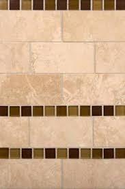 Travertine Backsplash Tiles by Aspen Interlocking Glass And Ivory Travertine Backsplash Tile By
