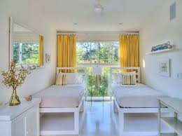 White And Yellow Curtains The Way To Brighten Up A Room With Yellow Curtains