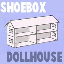 How To Decorate A Shoebox How To Make A Shoe Box Doll House Arts And Crafts Project For Kids