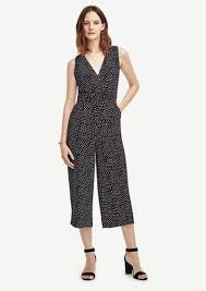 black sleeveless jumpsuit dotted sleeveless jumpsuit dresses shop it to me