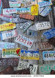 Maine State Vanity Plates Vintage License Plates Stock Photo 17938306 Shutterstock