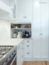 kitchen appliance storage cabinet kitchen ideas 11 neat ways to store your small appliances