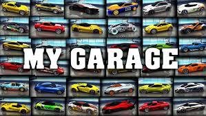 asphalt 8 my garage all my cars on 26 may 2016 youtube