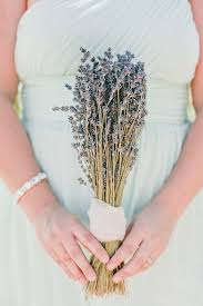 Lavender Bouquet Lavender Blue And Green An Ombre Wedding On A Winery