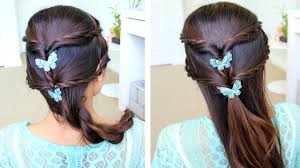 wedding hairstyle step by step how to do fancy braid half