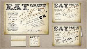 eat drink and be married invitations read more eat drink and be married wedding invitation wedding