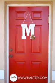 front doors good coloring front door initial 63 monogrammed