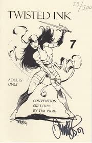 convention sketches by tim vigil soft cover 7f nimm98