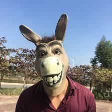 donkey mask ebay