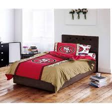 49ers Crib Bedding Nfl San Francisco 49ers Bed In A Bag Complete Bedding Set