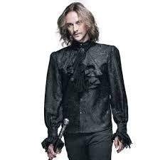 aliexpress com buy steampunk winter pattern men shirt long