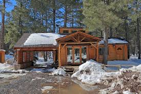 Log Home For Sale Off Grid Luxury Cabin For Sale In Flagstaff 16587 N Thundercliffe Way