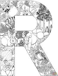 letter r is for rooster coloring page free printable coloring pages