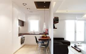 ideas for a small living room tropical dining room kitchen and living dividing wall ideas