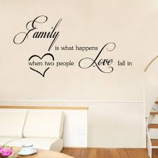wall stickers 29 x 58 cm dsu love family wall sticker self