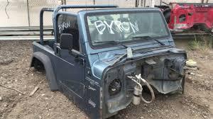 jeep body 1999 jeep wrangler tj body tub doors windshield frame tail gate