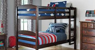 Bunk Bed Sets Walmart Wood Bunk Bed Set 2 Mattresses Just 179 Shipped