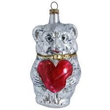 Locket Ornament Antique Style Blown Glass Ornaments