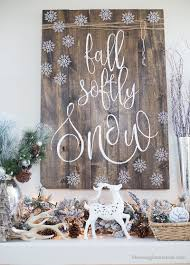 rustic holiday ornament display blooming homestead