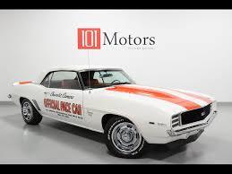 car sales camaro 1969 chevrolet camaro ss pace car for sale in tempe az stock