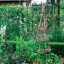 how to build a garden trellis from start to finish with simple