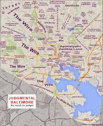 Washington Dc Neighborhoods Map by Abombazine