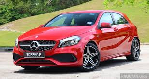 mercedes amg a250 driven mercedes a250 sport facelift in malaysia