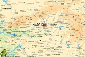 Madrid Spain Map Senda Real
