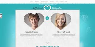 wedding invitation websites 20 html wedding website templates code geekz