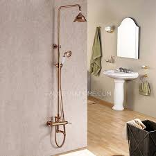Quality Faucets Quality Brass Outdoor Rose Gold Shower Faucets System