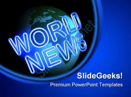 world news business people powerpoint template 0810 powerpoint