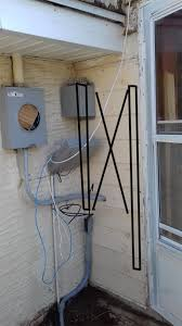electrical news exterior transfer switch location and clearance