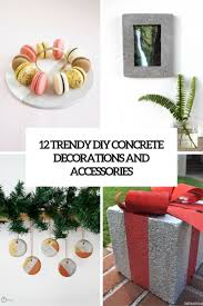 12 trendy diy concrete decorations and accessories shelterness