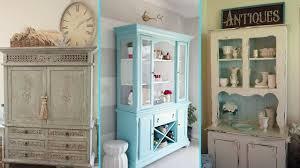 diy shabby chic style hutch decor ideas home decor