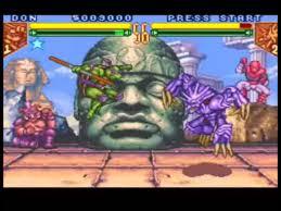 teenage mutant ninja turtles tournament fighters usa rom