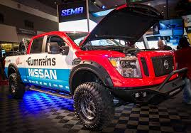 red nissan frontier lifted aftermarket parts for the 2016 nissan titan xd preview the