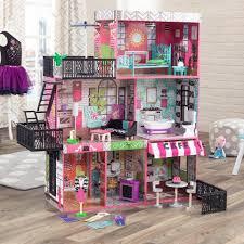 kidkraft brooklyn u0027s loft dollhouse u2013 swing and play