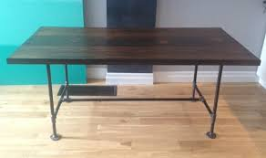 100 Diy Pipe Desk Plans Pipe Table Ideas And Inspiration by Pipe U0026 Wood Table V2 Storefront Life
