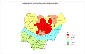 Map Of Nigerian States by H5n1 Bird Flu Spreads South In Nigeria Into East Atlantic Flyway