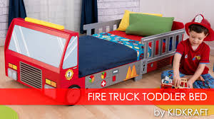 boy u0027s fire truck toddler bed furniture review youtube