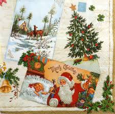 4 x single table paper napkins craft party for decoupage
