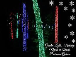 Botanical Garden Atlanta Lights Garden Lights Holiday Nights Delights At Atlanta Botanical Garden
