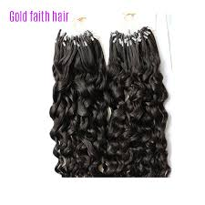 micro ring extensions micro ring bead loop hair extensions curly human