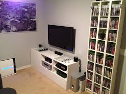 gaming setup ps4 cool game room decorating ideas home tips image of decor loversiq