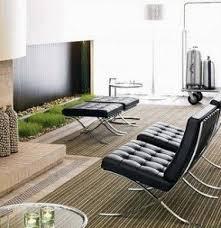 Barcelona Armchair Mies Van Der Rohe Chair Foter