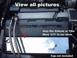 corvette stainless creations corvette c4 1993 1996 lt1 valve cover covers polished stainless