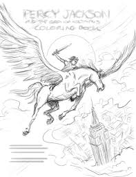 percy jackson coloring pages printables virtren com